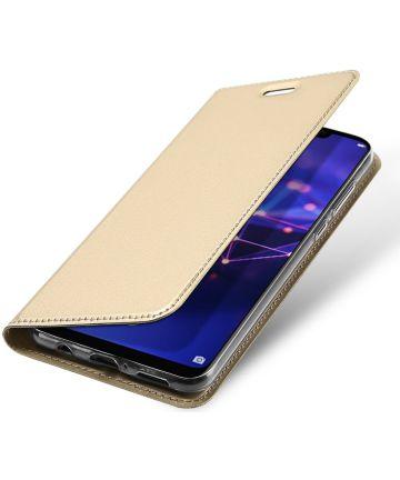 Dux Ducis Huawei Mate 20 Lite Bookcase Hoesje Goud