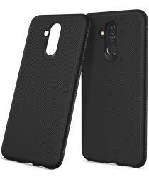 Huawei Mate 20 Lite Siliconen Hoesje Zwart