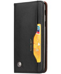 Xiaomi Pocophone F1 Luxe Portemonnee Hoesje Zwart