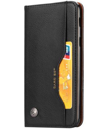 Xiaomi Pocophone F1 Luxe Portemonnee Hoesje Zwart Hoesjes