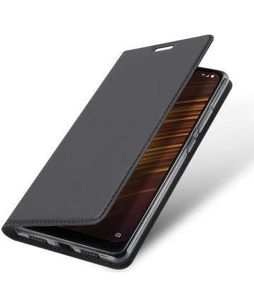 Dux Ducis Xiaomi Pocophone F1 Premium Bookcase Hoesje Zwart
