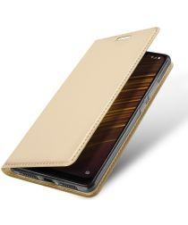 Dux Ducis Xiaomi Pocophone F1 Premium Bookcase Hoesje Goud