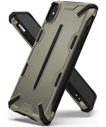 Ringke Dual X Apple iPhone XS Hoesje Brons Hoesjes