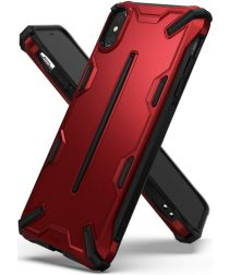 Ringke Dual X Apple iPhone XS Hoesje Rood