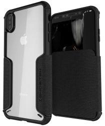 Ghostek Exec 3 Apple iPhone XS Max Zwart