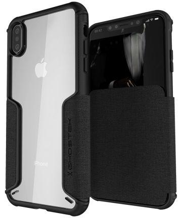 Ghostek Exec 3 Apple iPhone XS Max Zwart Hoesjes