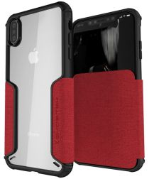 Ghostek Exec 3 Apple iPhone XS Max Rood