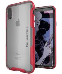 Ghostek Cloak 4 Hybride Hoesje Apple iPhone XS Rood