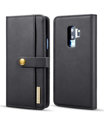 Samsung Galaxy S9 Plus 2-in-1 Bookcase en Back Cover Hoesje Zwart