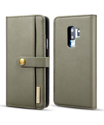 Samsung Galaxy S9 Plus 2-in-1 Bookcase en Back Cover Hoesje Groen