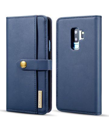 Samsung Galaxy S9 Plus 2-in-1 Bookcase en Back Cover Hoesje Blauw