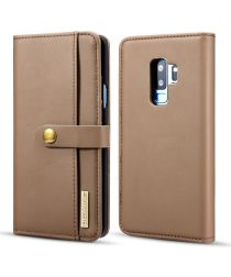 Samsung Galaxy S9 Plus 2-in-1 Bookcase en Back Cover Hoesje Bruin