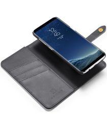 Samsung Galaxy S8 Plus 2-in-1 Bookcase en Back Cover Hoesje Zwart