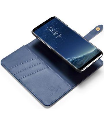 Samsung Galaxy S8 Plus 2-in-1 Bookcase en Back Cover Hoesje Blauw Hoesjes