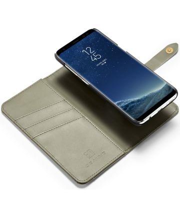 Samsung Galaxy S8 Plus 2-in-1 Bookcase en Back Cover Hoesje Groen Hoesjes