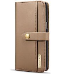 Samsung Galaxy S8 Leren 2-in-1 Bookcase en Back Cover Hoesje Bruin