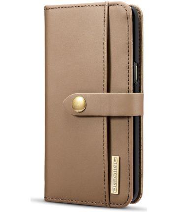 Samsung Galaxy S8 Leren 2-in-1 Bookcase en Back Cover Hoesje Bruin Hoesjes