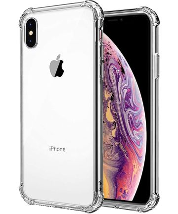 Apple iPhone XR Rugged Transparante TPU Back Cover Hoesje