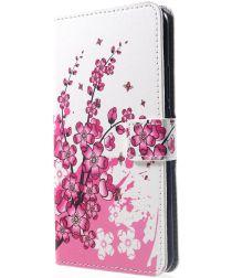 Huawei P Smart Plus Portemonnee Hoesje Blossom