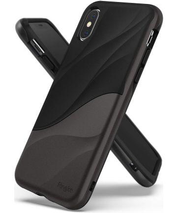 Ringke Wave Apple iPhone XS Hoesje Zwart Hoesjes