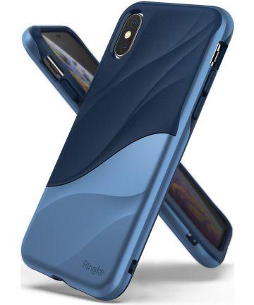 Ringke Wave Apple iPhone XS Hoesje Blauw