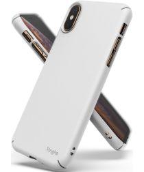 Ringke Slim Apple iPhone XS Ultra Dun Hoesje Wit