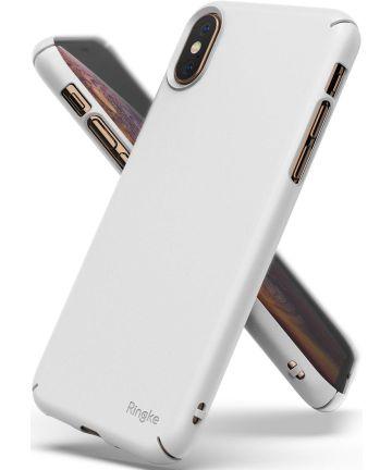 Ringke Slim Apple iPhone XS Ultra Dun Hoesje Wit Hoesjes