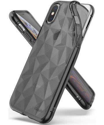 Ringke Air Prism Apple iPhone XS Hoesje Zwart Hoesjes