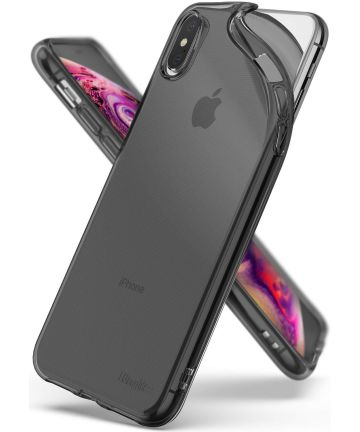 Ringke Air Hoesje Apple iPhone XS Max Zwart Hoesjes