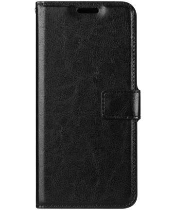 Sony Xperia XZ3 Stijlvol Hoesje met Kaarthouder Zwart