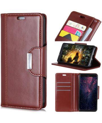 Huawei Mate 20 Lite Bookcase Hoesje Bruin