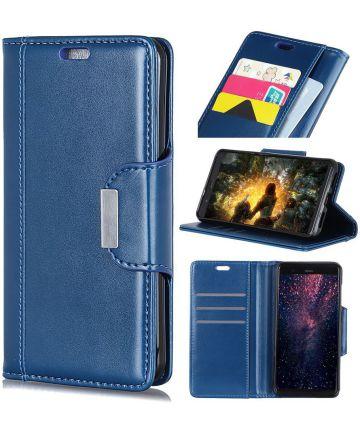 Huawei Mate 20 Lite Bookcase Hoesje Blauw