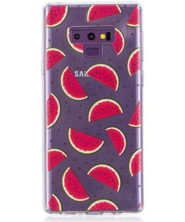 Samsung Galaxy Note 9 TPU Backcover Hoesje Meloen Print Hoesjes