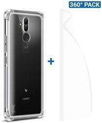 IMAK Huawei Mate 20 Lite Hoesje met Screenprotector Transparant