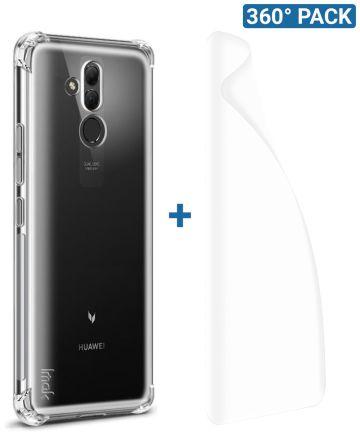 IMAK Huawei Mate 20 Lite Hoesje met Screenprotector Transparant Hoesjes