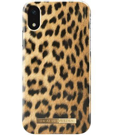 iDeal of Sweden iPhone XR Fashion Hoesje Wild Leopard Hoesjes