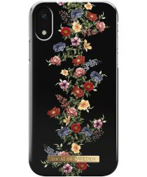 iDeal of Sweden iPhone XR Fashion Hoesje Dark Floral