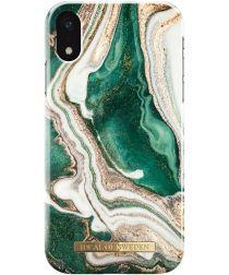 iDeal of Sweden iPhone XR Fashion Hoesje Golden Jade
