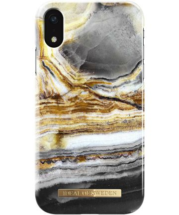 iDeal of Sweden iPhone XR Fashion Hoesje Outer Space Agate Hoesjes