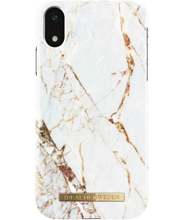 iDeal of Sweden iPhone XS Max Fashion Hoesje Carrara Gold Hoesjes