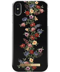 iDeal of Sweden iPhone XS Max Fashion Hoesje Dark Floral