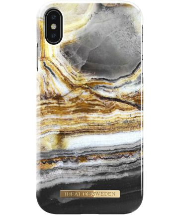 iDeal of Sweden iPhone XS Max Fashion Hoesje Outer Space Agate
