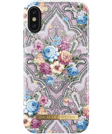 iDeal of Sweden iPhone XS / X Fashion Hoesje Romantic Paisley