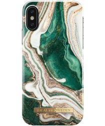 iDeal of Sweden iPhone XS / X Fashion Hoesje Golden Jade