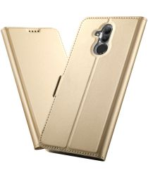 Huawei Mate 20 Lite Portemonnee Hoesje Goud