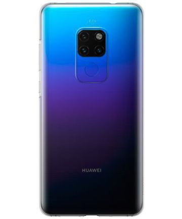 Origineel Huawei Mate 20 TPU Hoesje Transparant