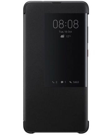 Huawei Mate 20 Originele Flip Cover Zwart Hoesjes