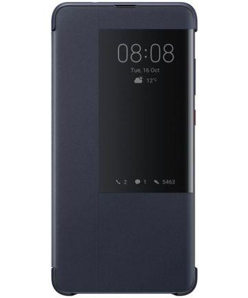 Huawei Mate 20 Originele Flip Cover Blauw Hoesjes
