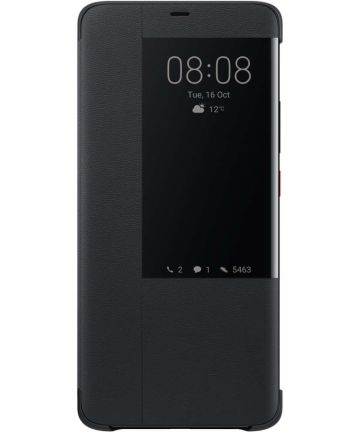 Huawei Mate 20 Pro Originele Flip Cover Zwart Hoesjes