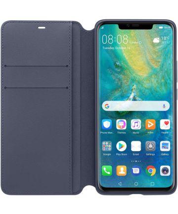 Originele Huawei Portemonnee Flip Cover Mate 20 Pro Blauw Hoesjes